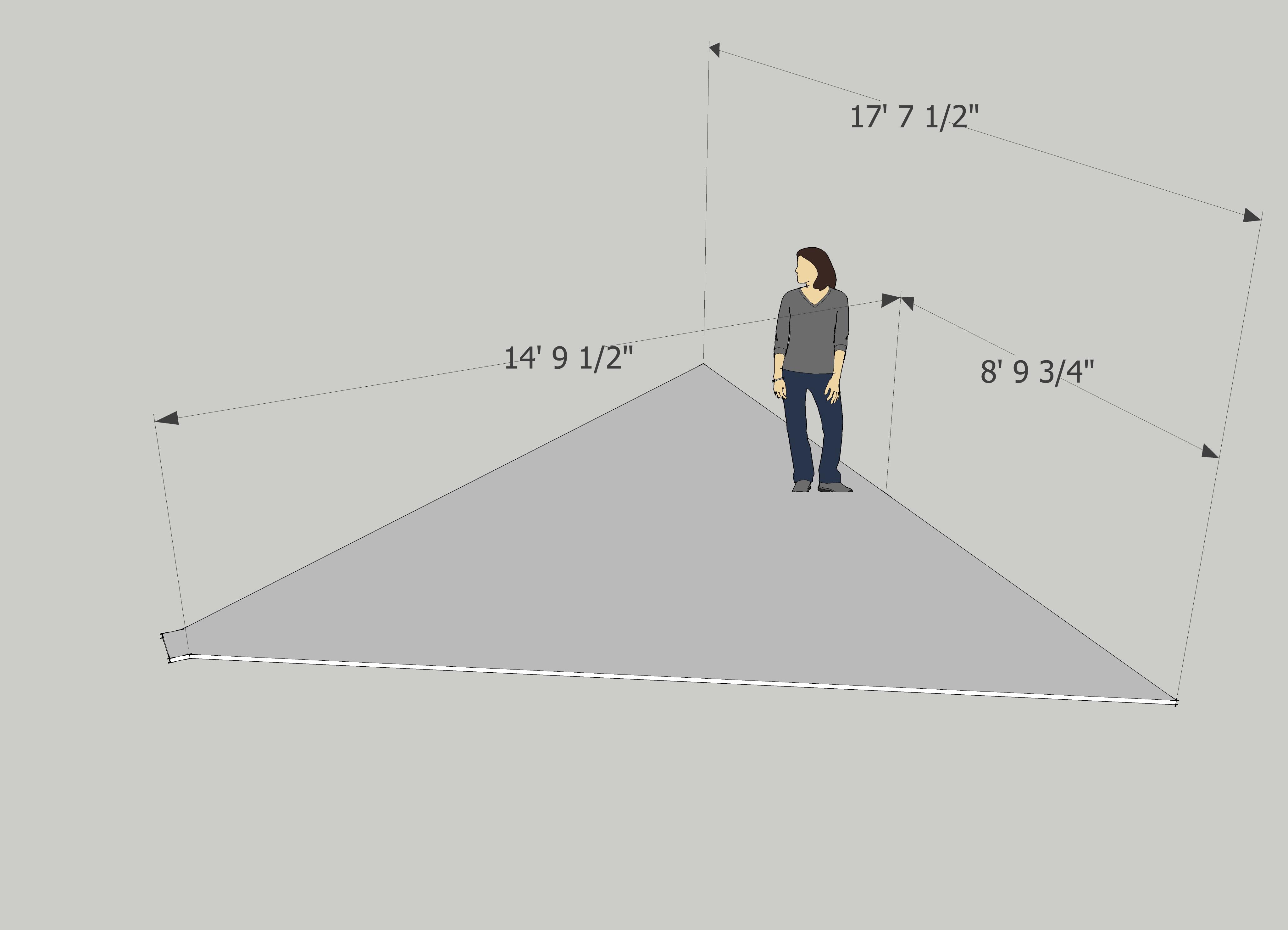 Kinect floor plan