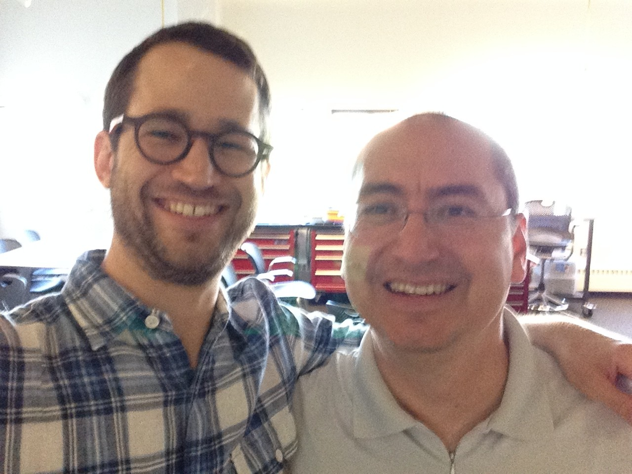 DiGRA 2014 selfie with Josh Fishburn